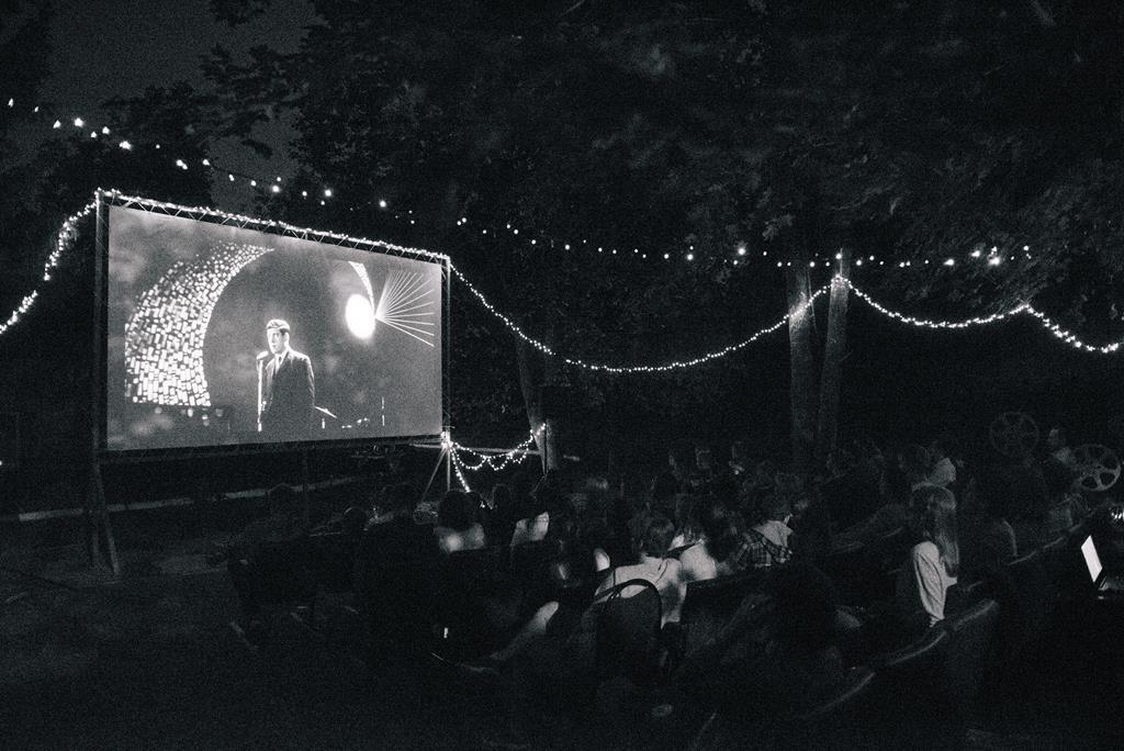 В Курске прошел «киноквартирник» под открытым небом