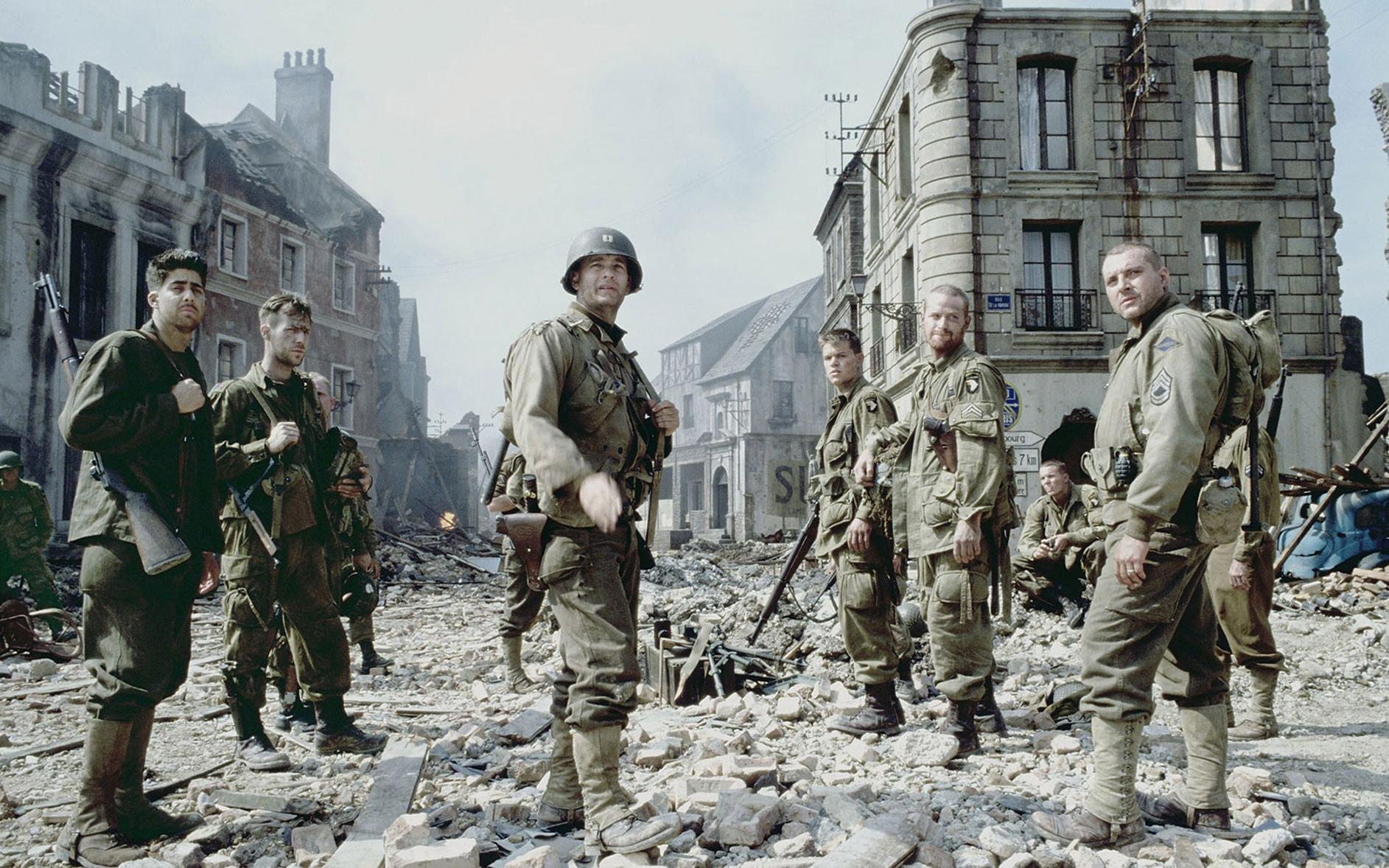 Зарубежные художественные фильмы про Вторую Мировую войну