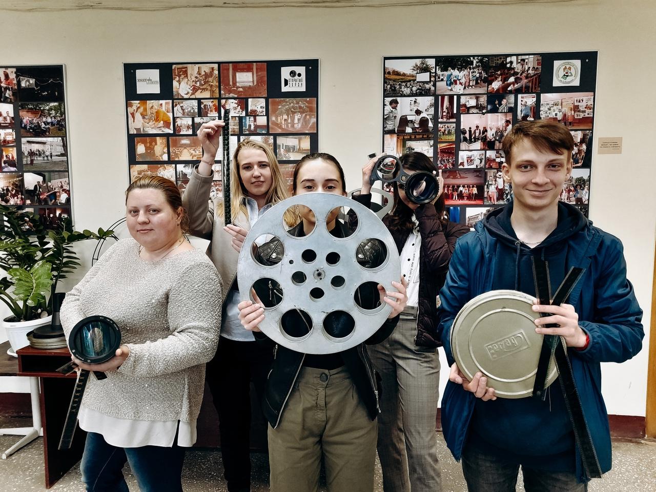Встреча волонтеров Курского кинофонда